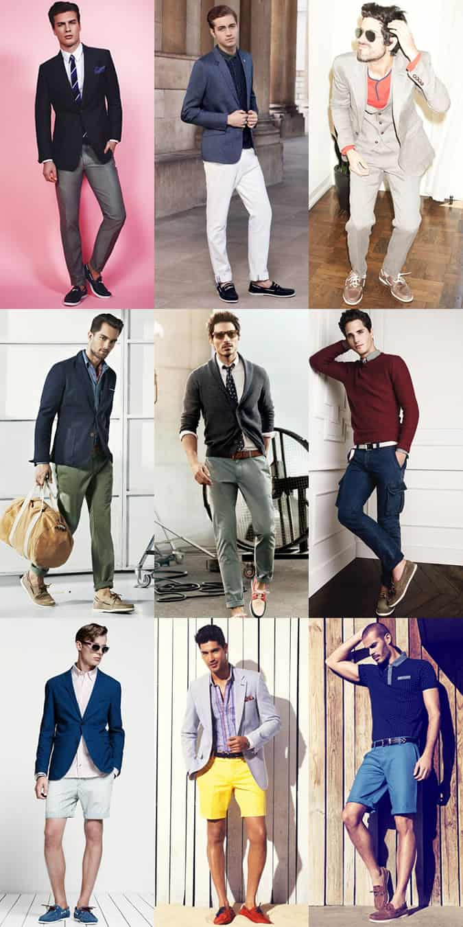 Men's Boat Shoes - Smart-Casual Outfit Inspiration
