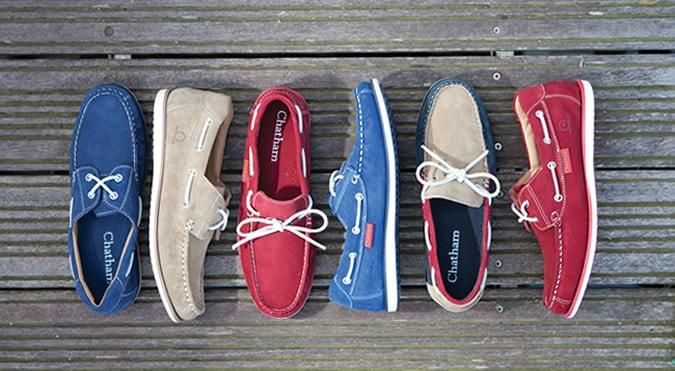 Chatham SS13 Deck Shoes