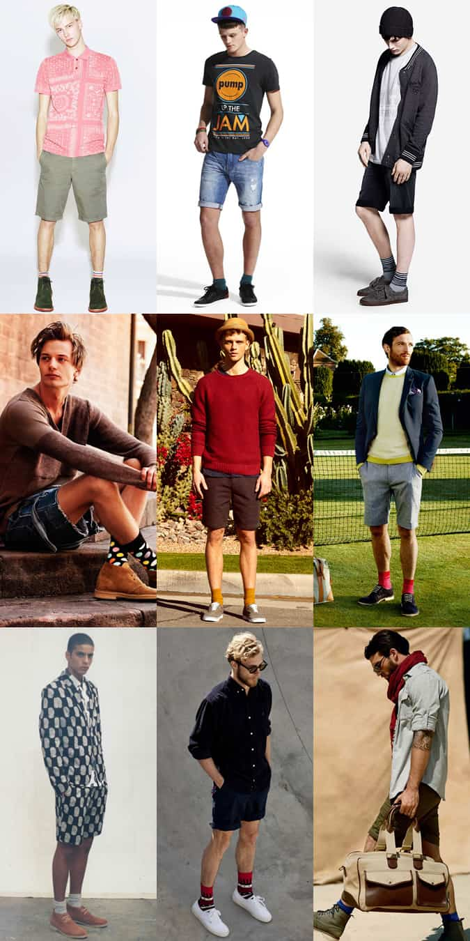 Men's Summer Socks & Shorts Lookbook