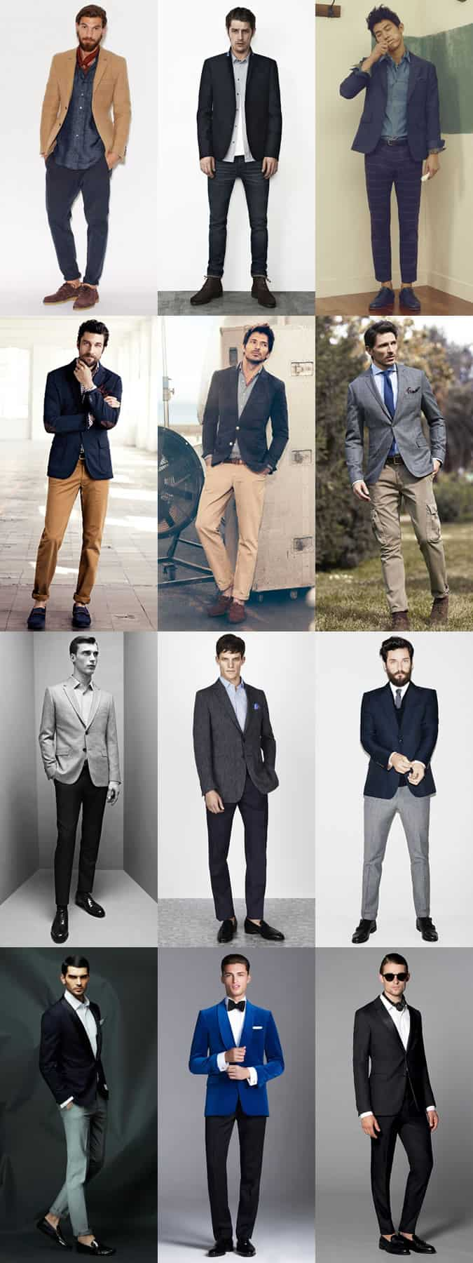 Men's Uniform Lookbook