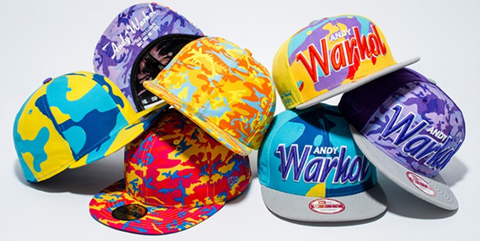 New Era Andy Warhol Caps Collection
