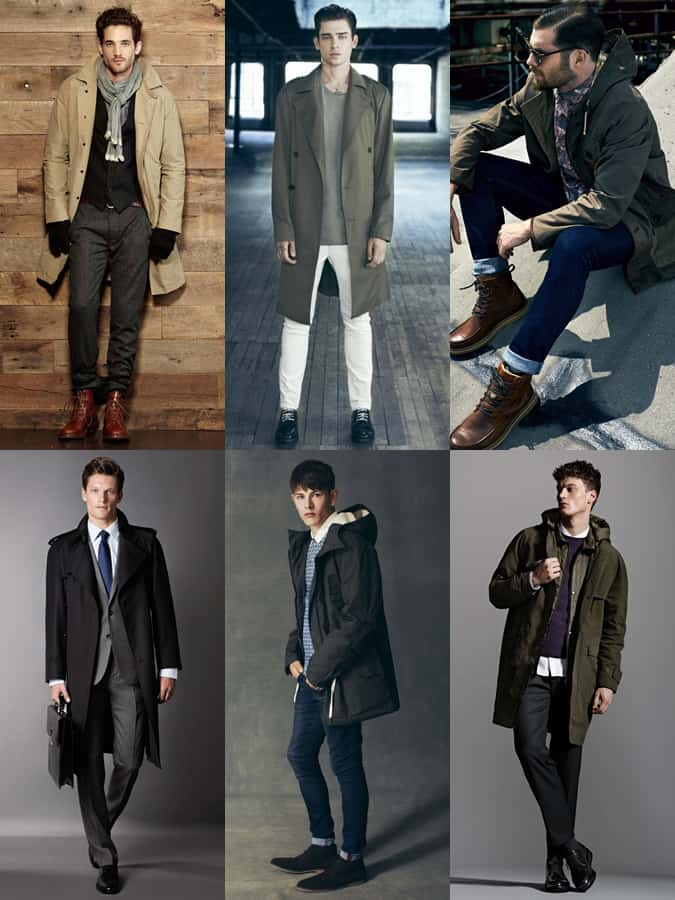 Men's Raincoat Lookbook