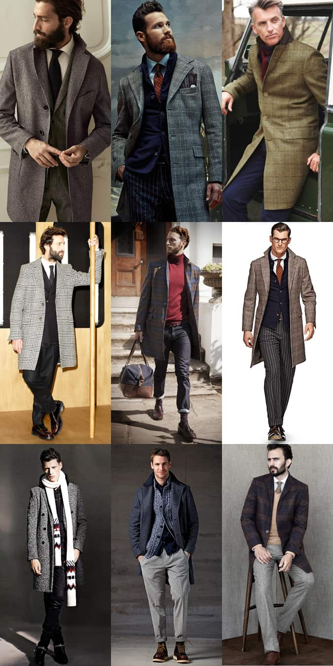 Men's Neutral Overcoats Outfit Inspiration Lookbook