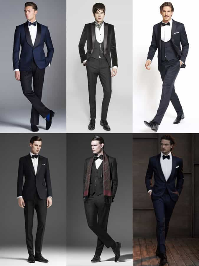 Men's Tuxedo Lookbook