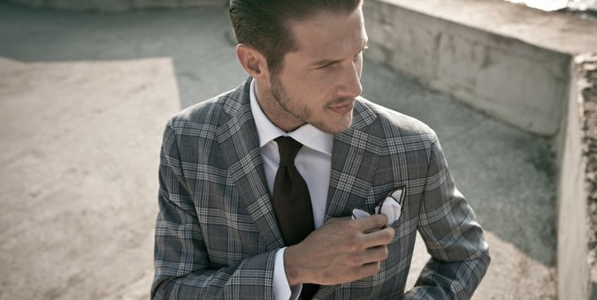 Men's 2013/14 Fashion Trend: Checked Tailoring & Suiting