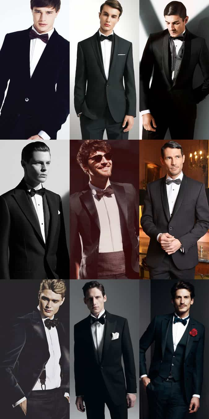 Black Tie Accessories Lookbook Outfit Inspiration
