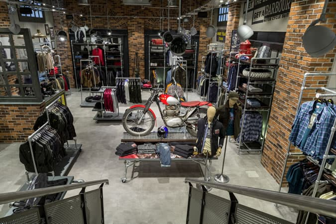 Barbour Heritage Motorcycle Store Launch Fashionbeans