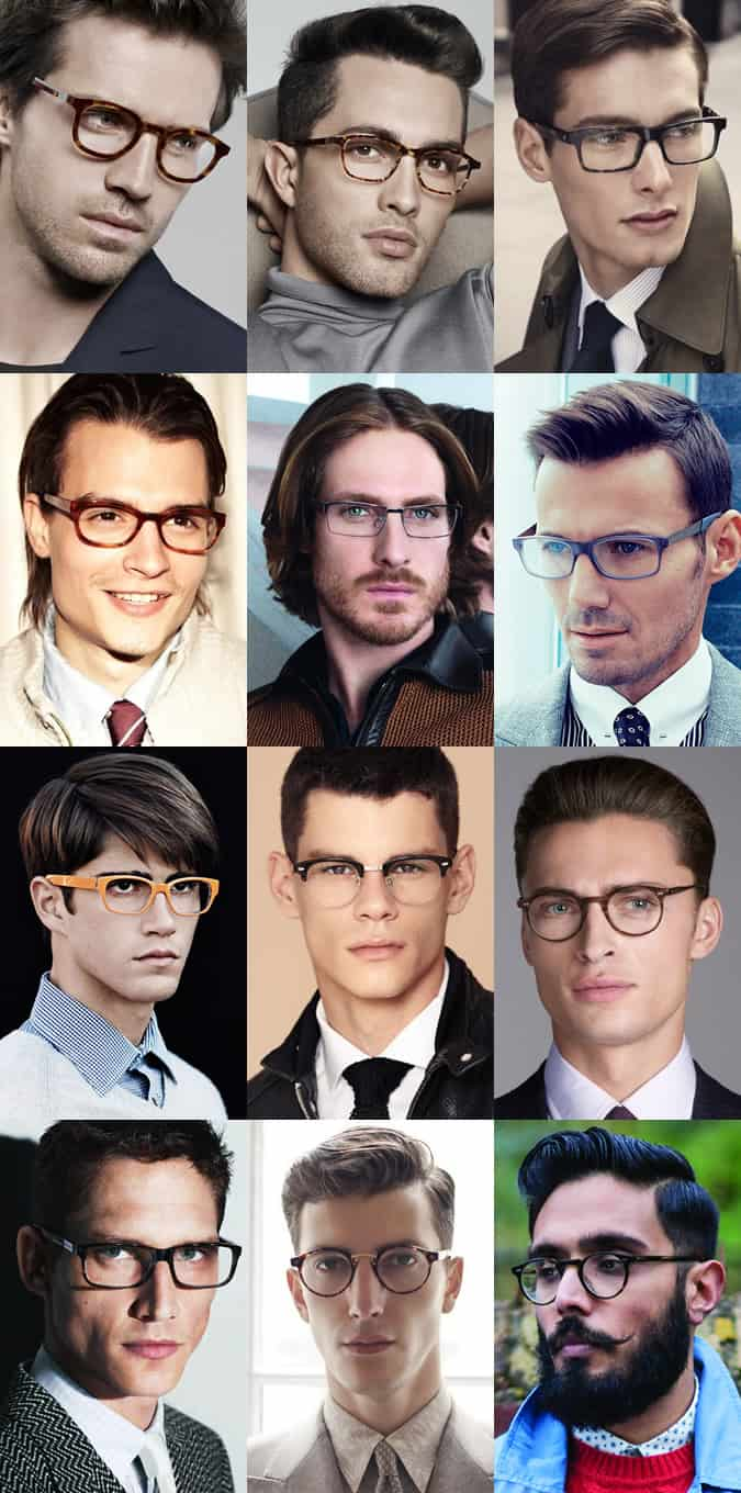 Men's Spectacles/Eyewear Lookbook Inspiration
