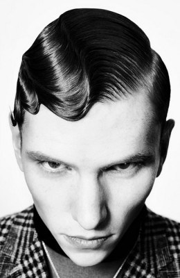British Hairdressing Awards Men's Hairdresser of the Year 2013<br/> Click Photo To Enlarge Or Print