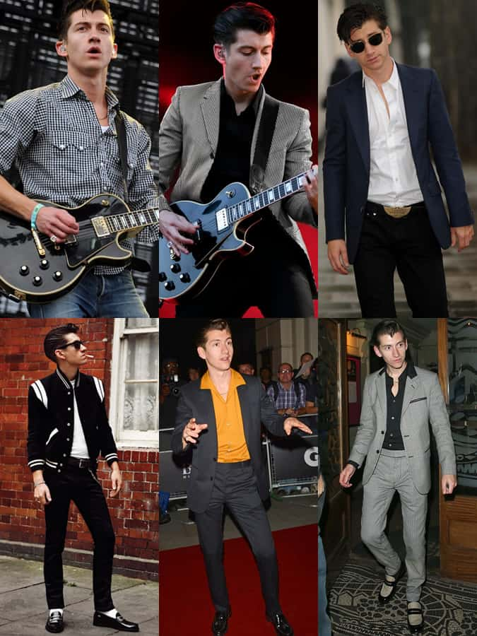Alex Turner 2013 Outfits Lookbook