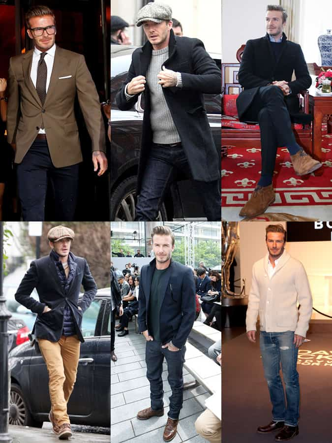 David Beckham 2013 Outfits Lookbook