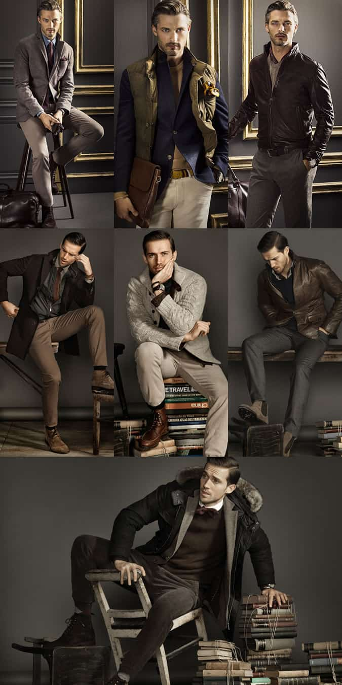 Men's Massimo Dutti Lookbook