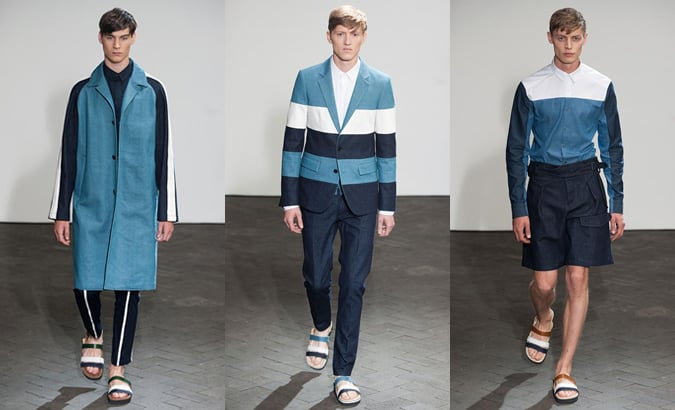 Wooyoungmi Spring/Summer 2014 Menswear - Block Stripes