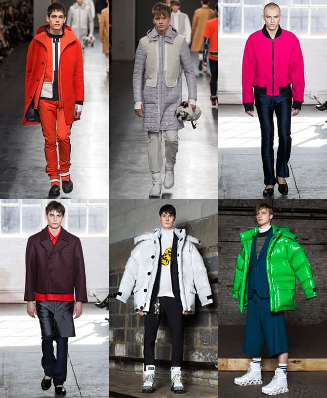 NYFW Men's Trends - Oversized Outerwear