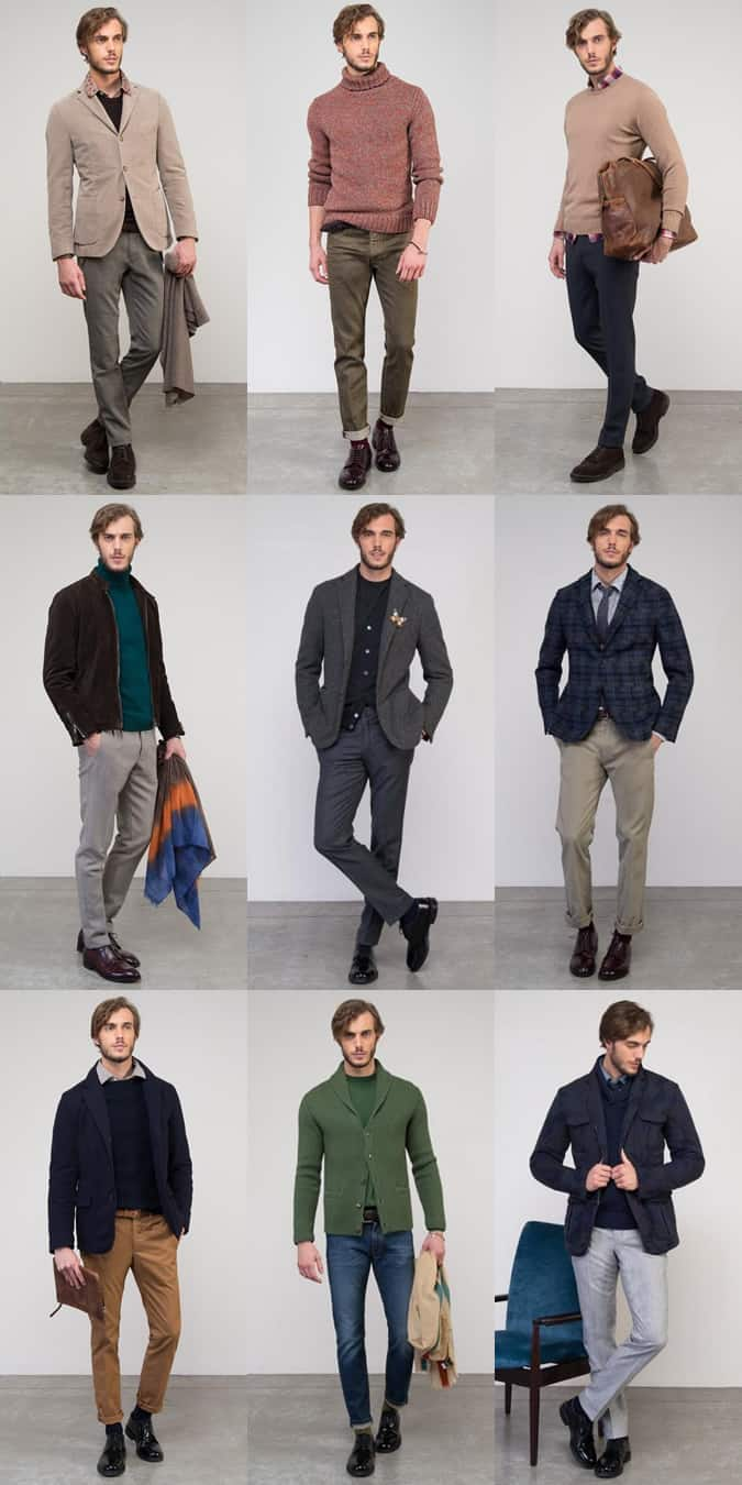 Men's Slowear AW13 Lookbook