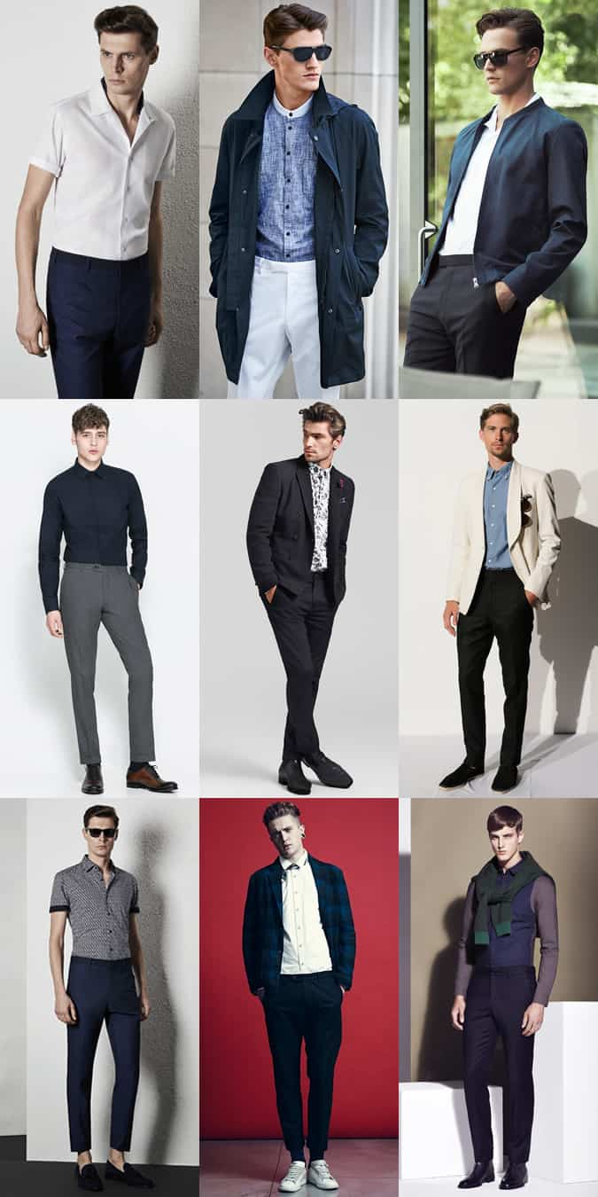 Men's No Belt Lookbook Outfit Inspiration