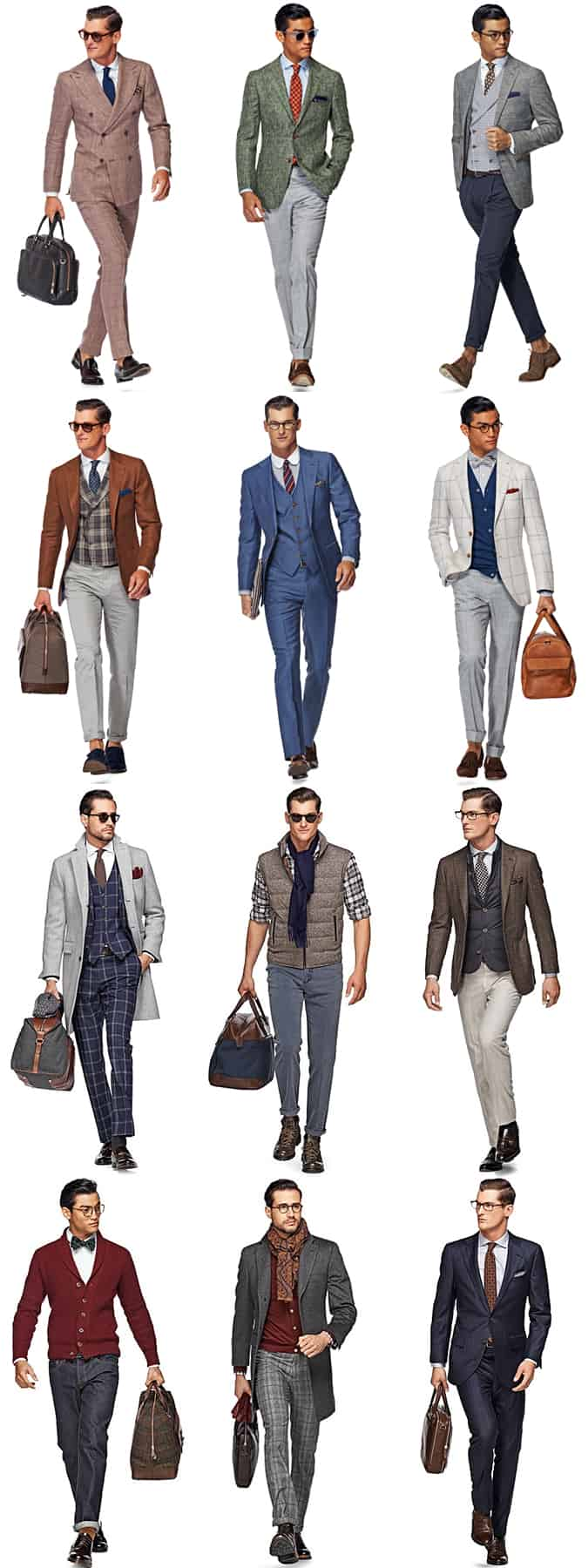 Recent Suitsupply Menswear Campaigns/Lookbooks