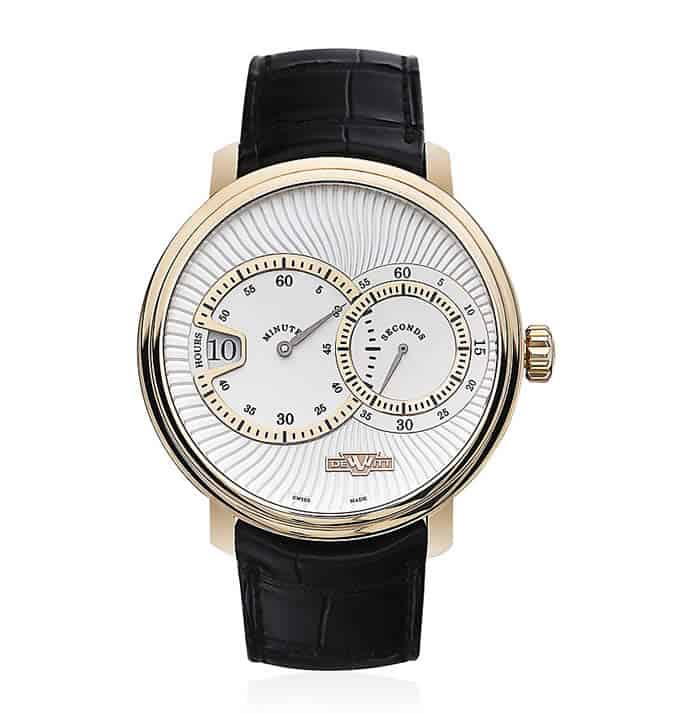 DeWitt Classic Jumping Hour 002 Watch