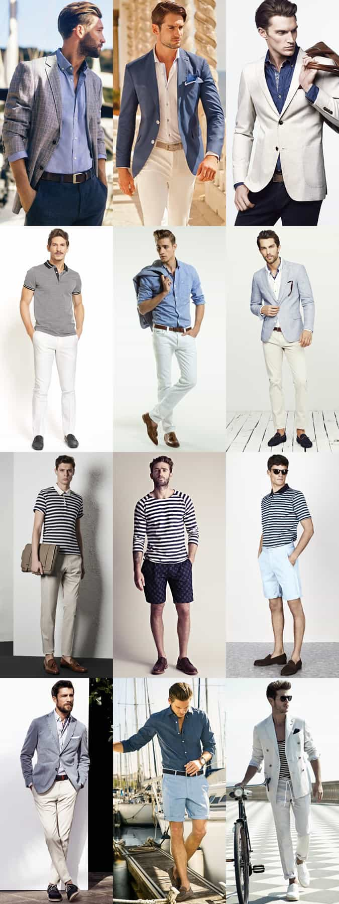 Nice, France - Men's Spring City Break Outfit Inspiration Lookbook