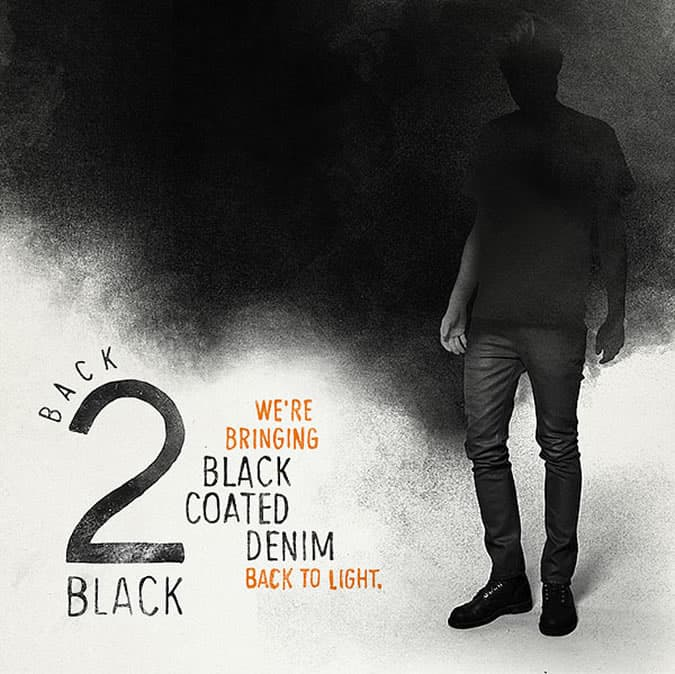 Nudie Jeans release Thin Finn: Back 2 Black