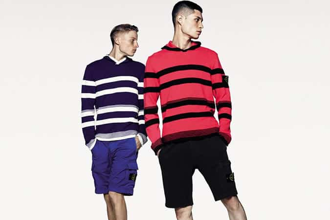 Stone Island SS14 Stripes Clothing Collection