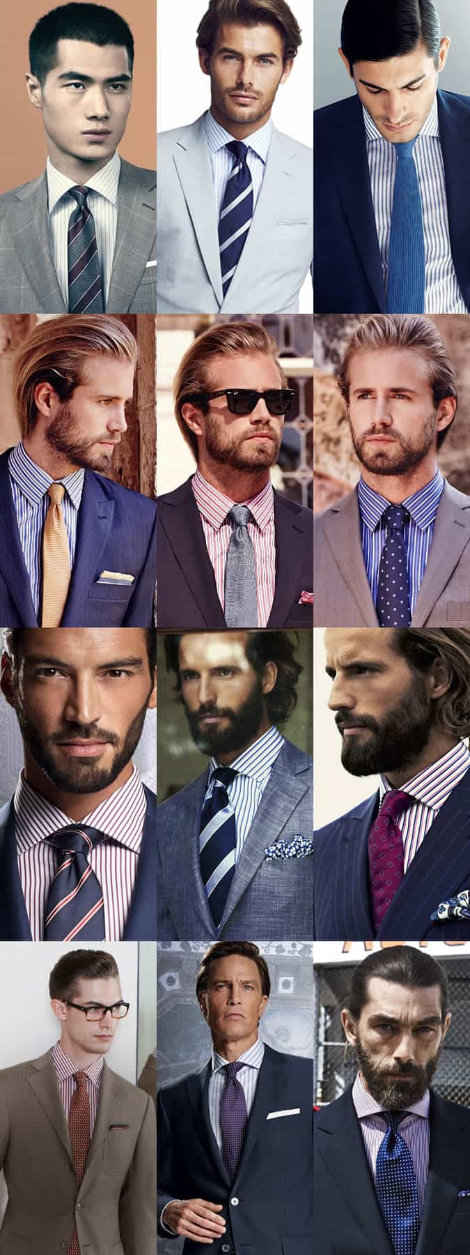 Tie meets shirt a perfect match for Mens dress shirts and ties combinations