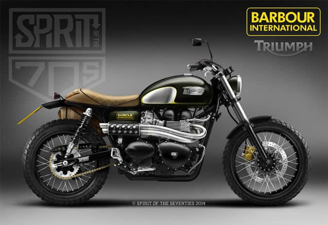 Barbour International x Spirit Of The Seventies Motorbike