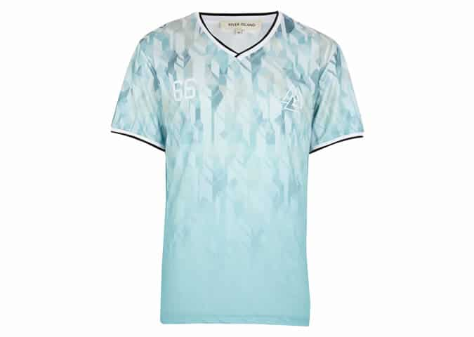 River Island World Cup Menswear range