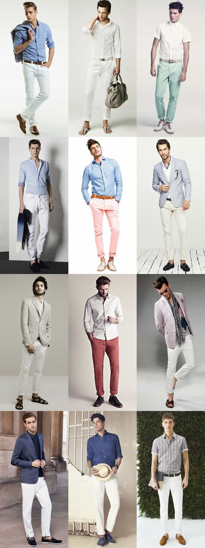 Men's Summer Wedding Abroad Outfit Inspiration Lookbook