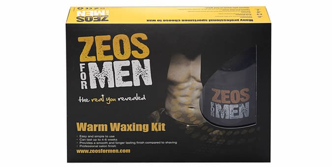 Zeos Wax System For Men Launches