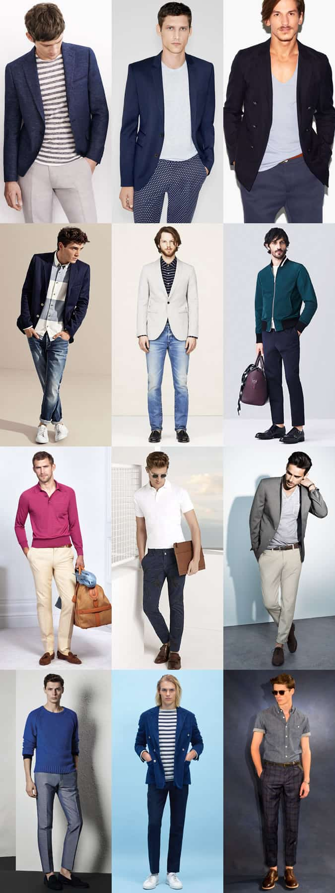 Men's Dress Down Friday Outfit Examples - Using Separates