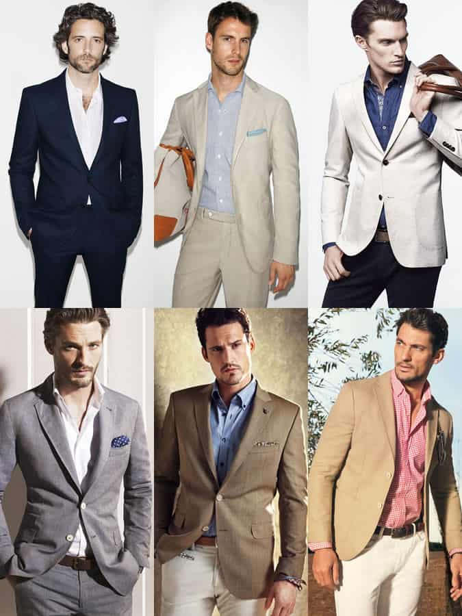 Men's Tie-Less Business Outfit Inspiration Lookbook