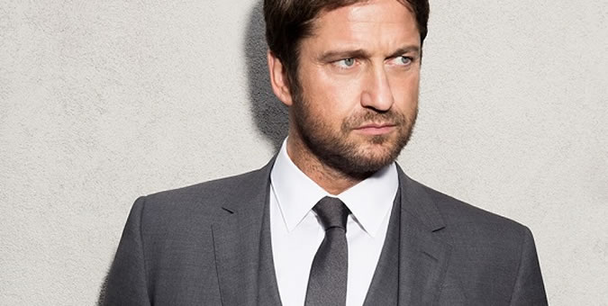 Gerard Butler Signed By Hugo Boss