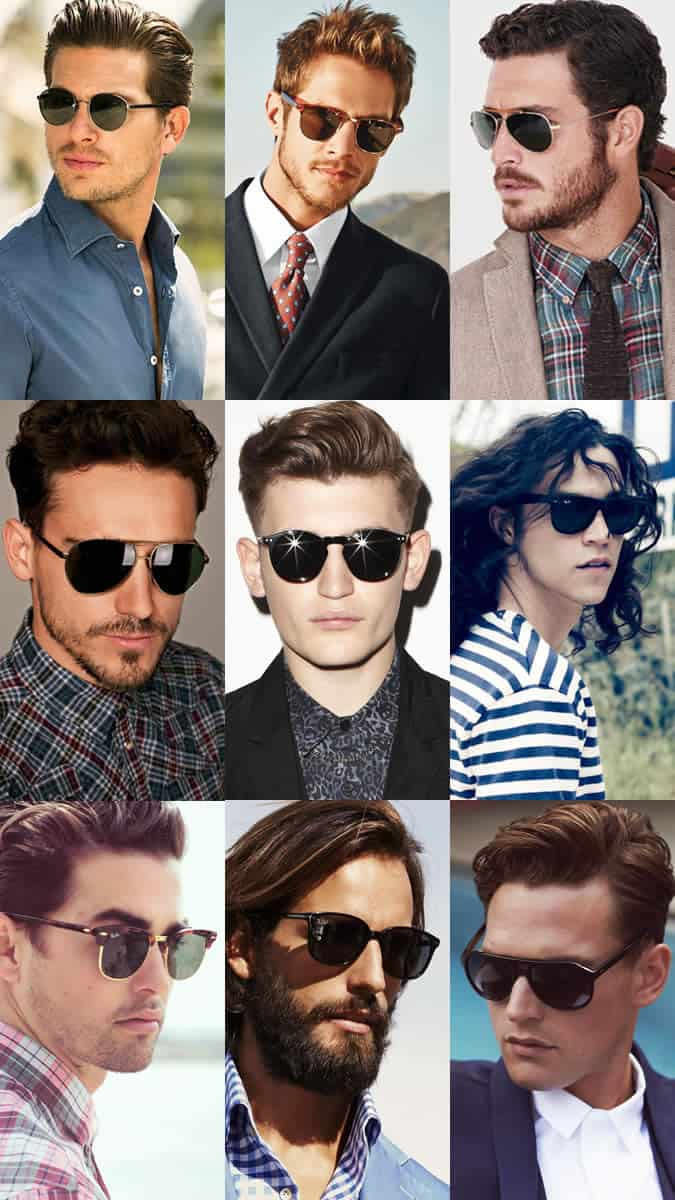 Men's Classic Sunglasses Lookbook