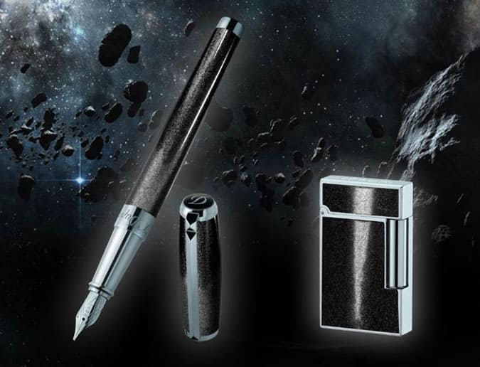 ST Dupont Meteorite Fountain Pen