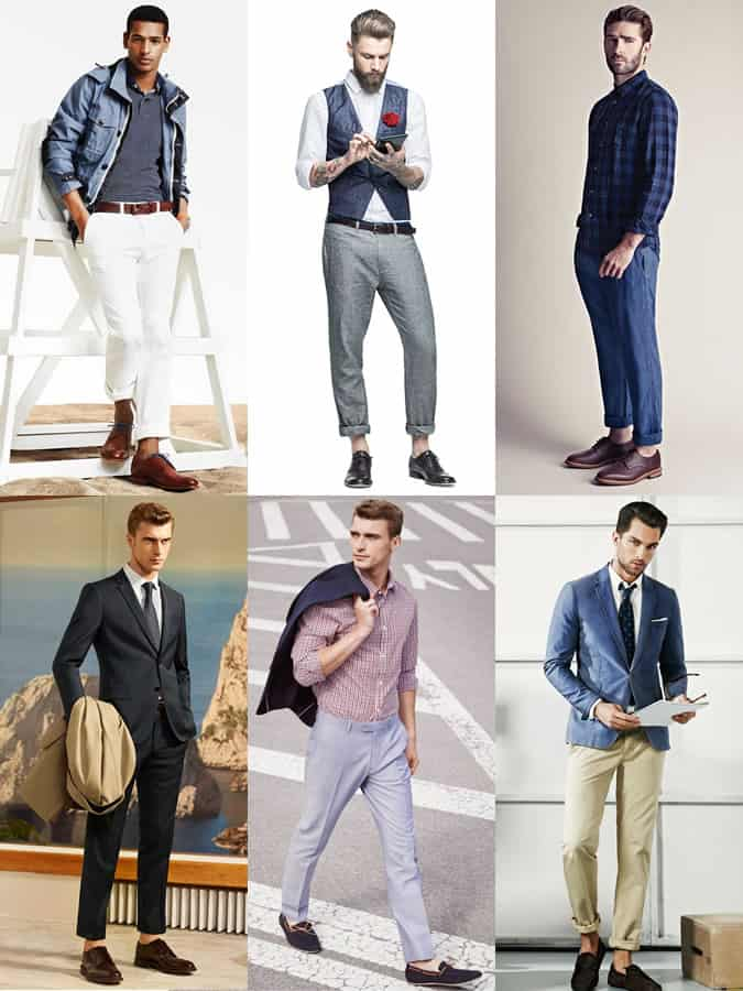 Men's Sockless Outfit Inspiration Lookbook