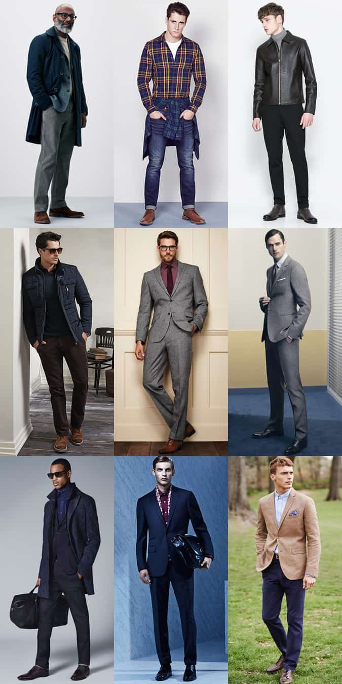 Men's Trouser Lengths - The Right Length/Break Lookbook