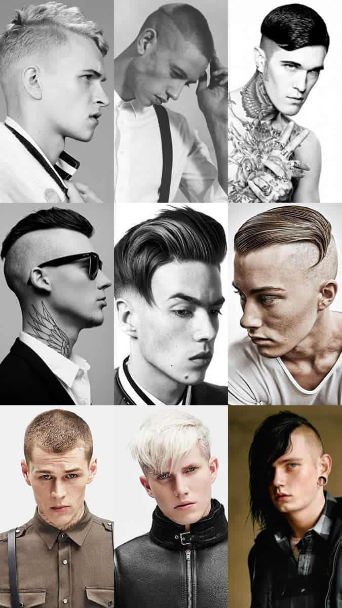 Men's Punk-Inspired Hairstyles