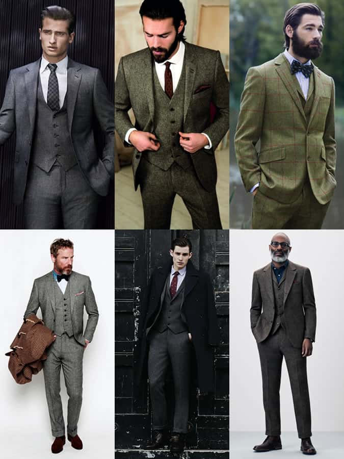 da0d1fac47 Men s Autumn Winter Essential Fabrics  Tweed