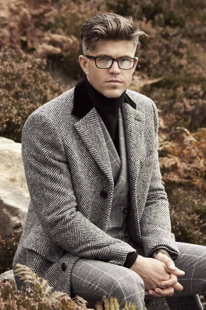 Darren Kennedy For Louis Copeland AW14