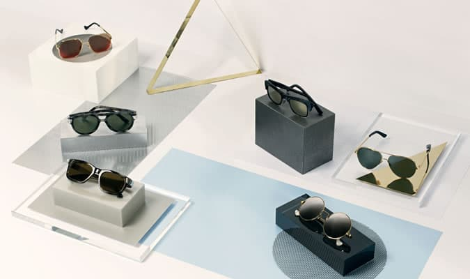 Cutler And Gross Eyewear, Opticals and Sunglasses Lookbook/Advertising Campaign