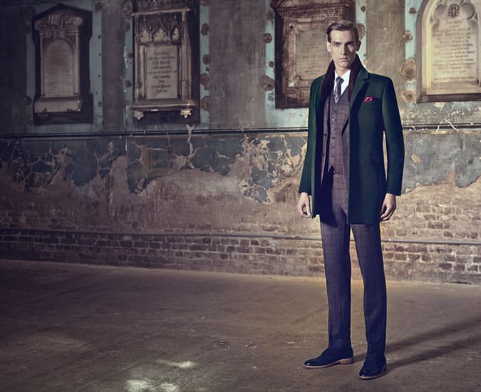 Ted Baker Global AW14 Collection - Outerwear And Coats