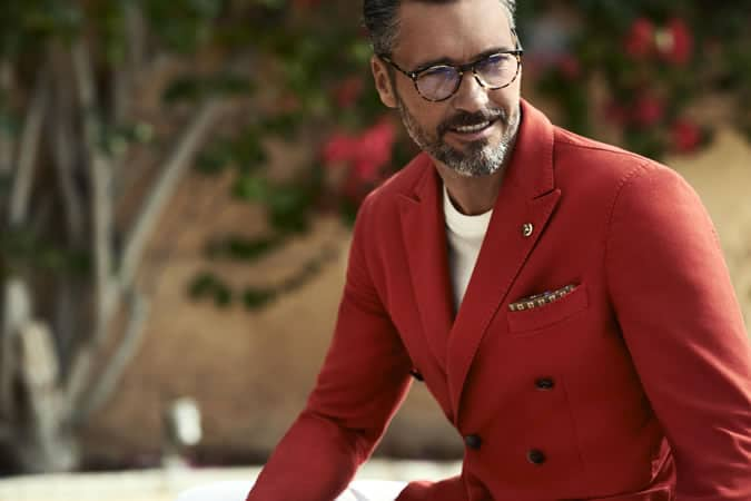 Men's Red Jackets and Clothing For Spring/Summer 2015
