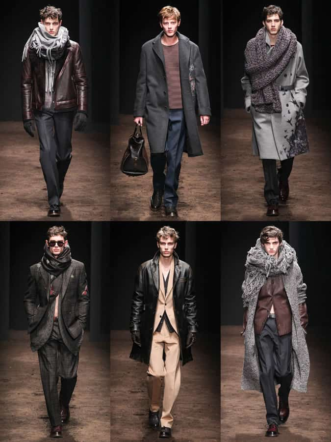 Salvatore Ferragamo AW15 Menswear Collection Shown At Milan Fashion Week