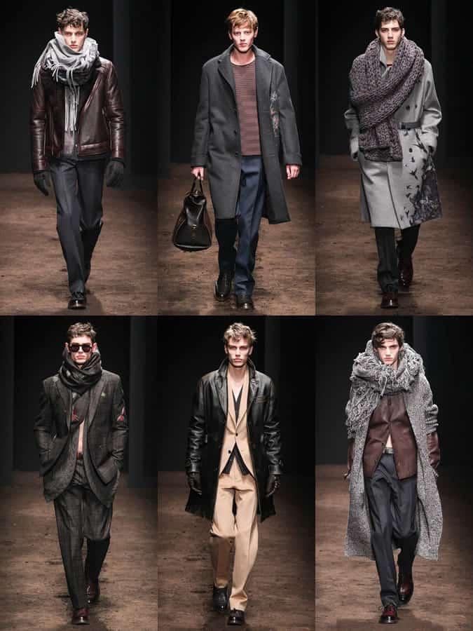 Salvatore Ferragamo AW15 Menswear Collection Shown At Milan Fashion Week