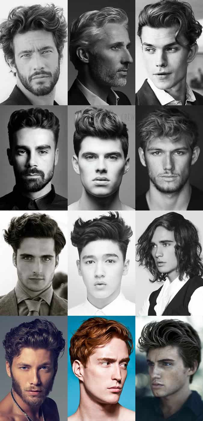 Men's Wavy Hairstyles For 2015