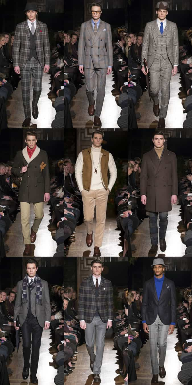 Hackett AW15 Menswear Collection