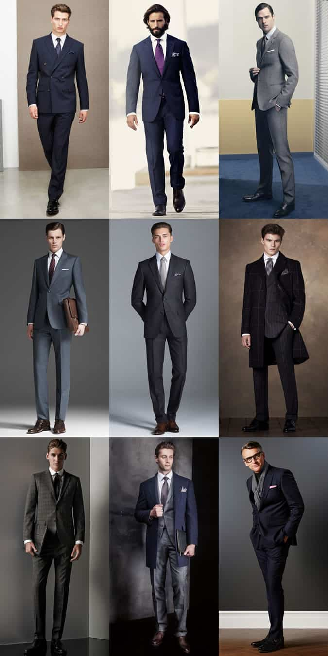 Lookbook Inspiration - Good Suit Trouser Break