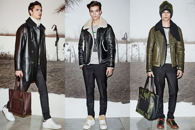 Coach Men's AW15 Runway