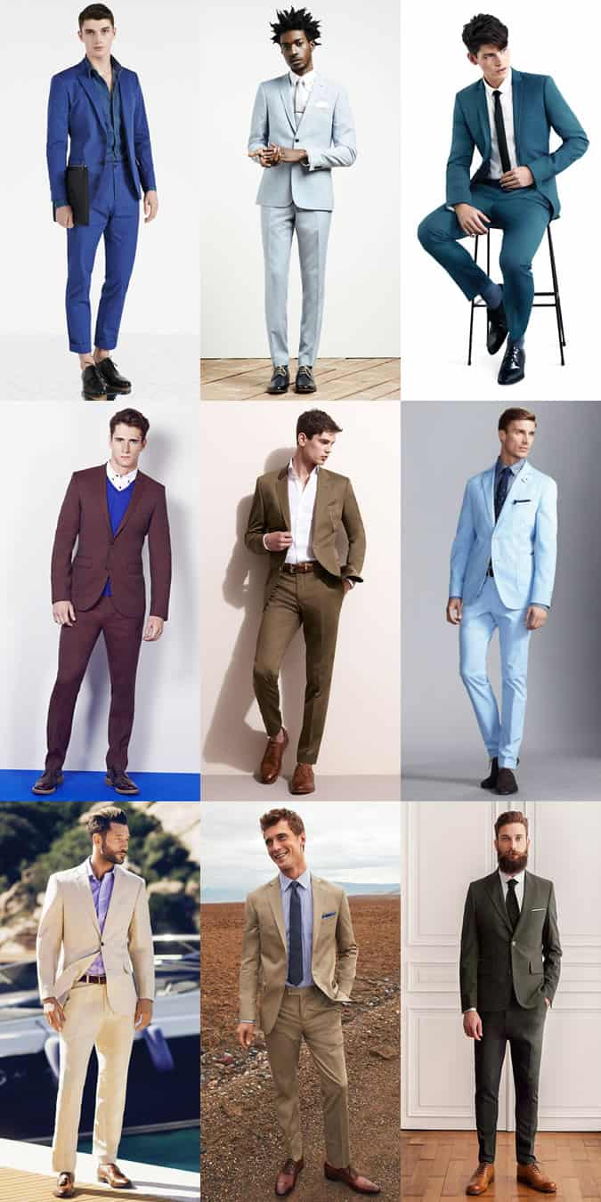 Men's statement Suits Outfit Inspiration Lookbook
